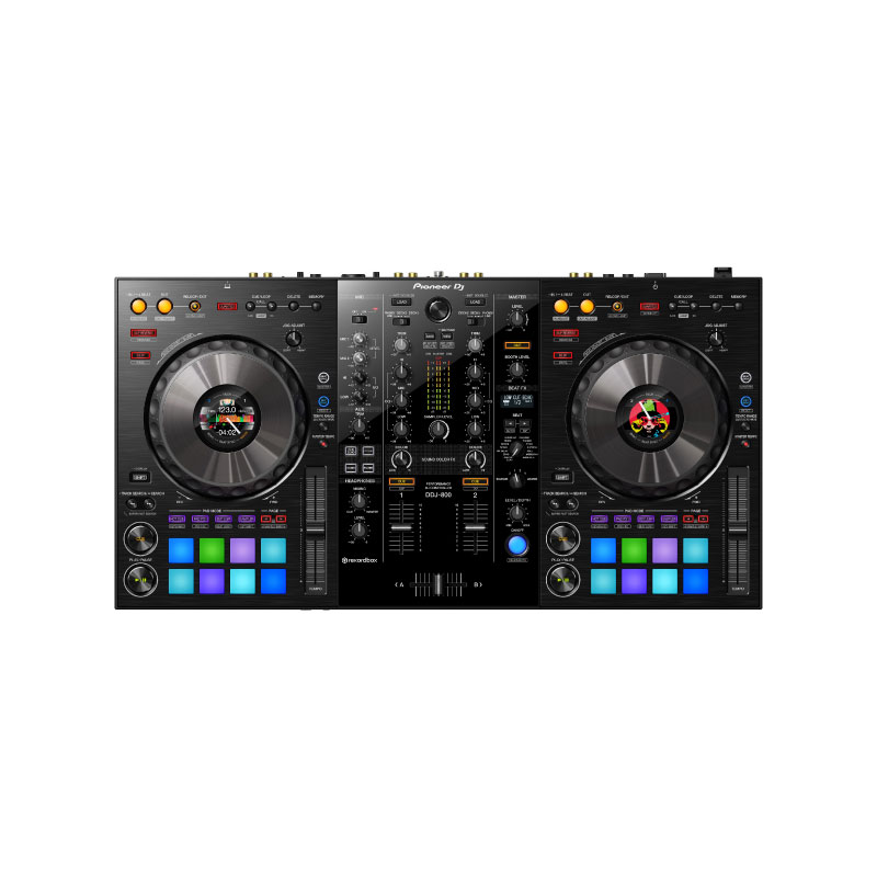 Pioneer DJ DDJ-800 2-Channel Portable DJ Controller