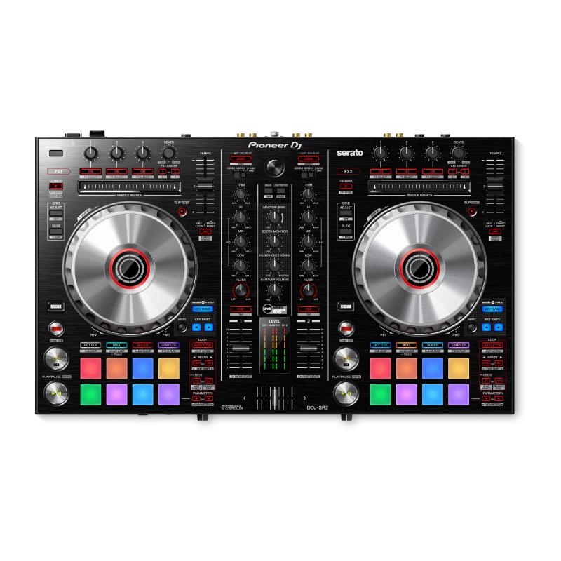 Pioneer DJ DDJ-SR2 Portable 2-Channel Controller