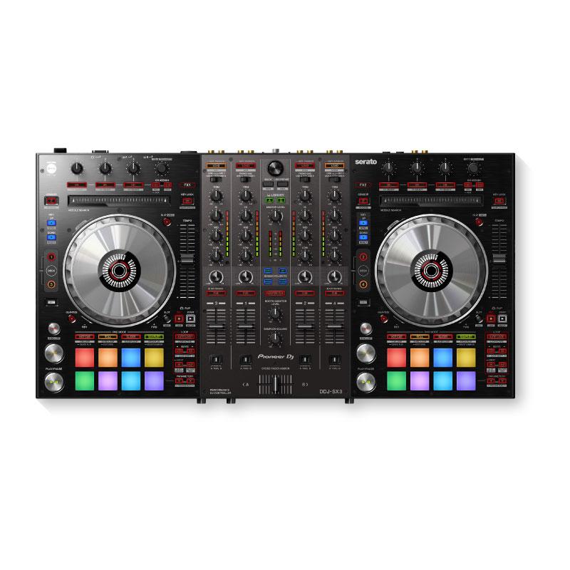 Pioneer DJ DDJ-SX3 4-Channel DJ Controller