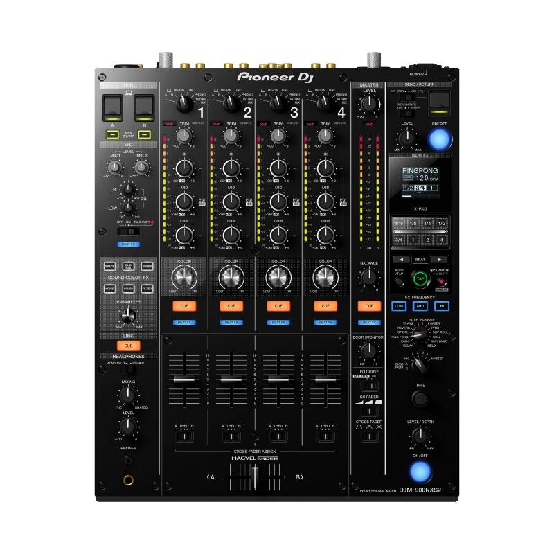 Pioneer DJ DJM-900NXS2 4-Channel Digital Pro DJ Mixer