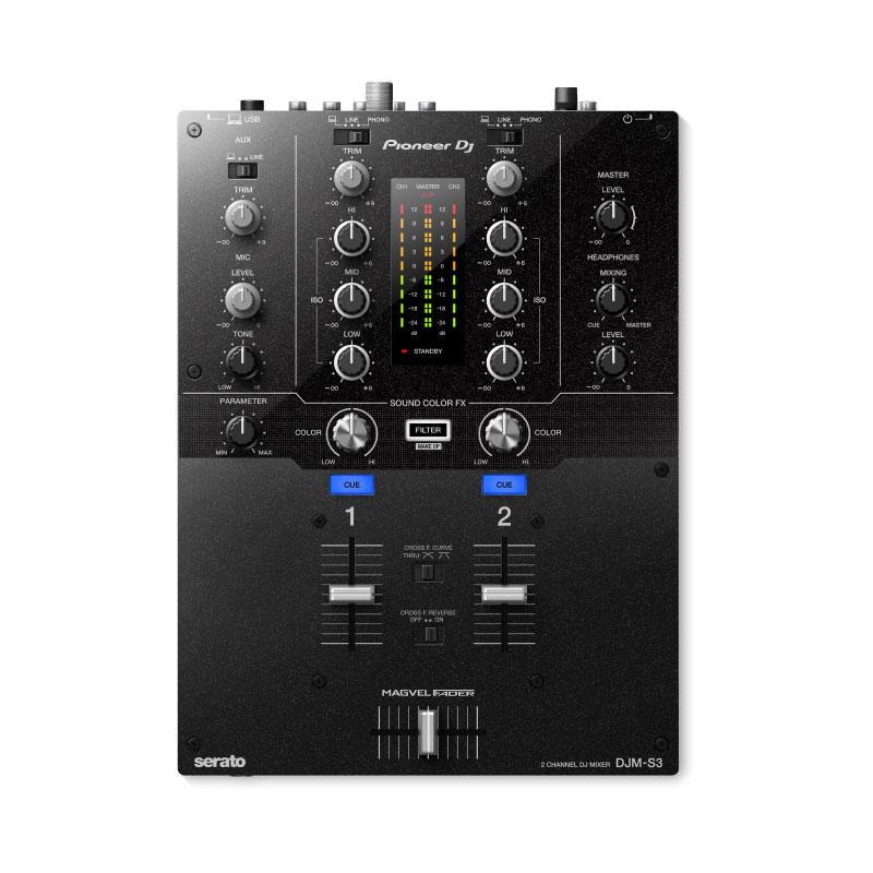 Pioneer DJ DJM-S3 2-Channel Mixer