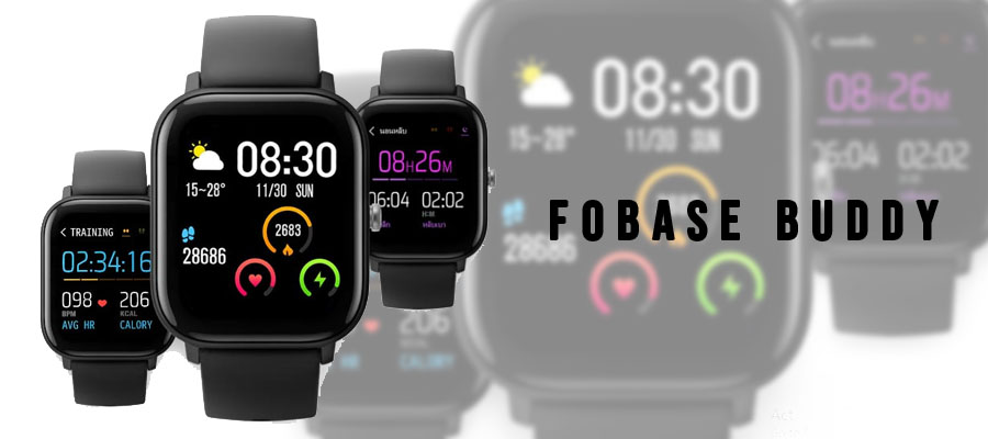 Fobase Buddy Smart Watch รีวิว