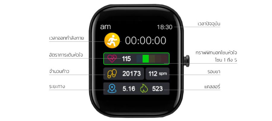 Fobase Buddy Smart Watch ราคา