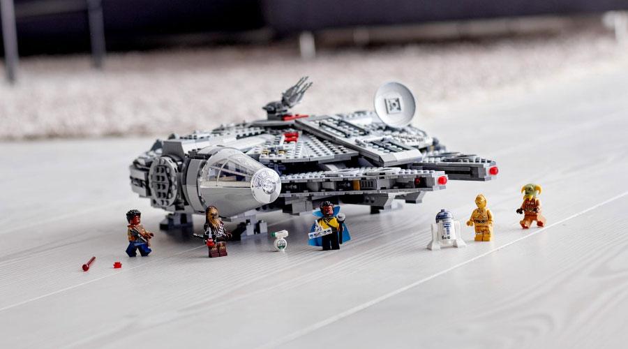 Lego Star Wars: The Rise of Skywalker 75257 Millennium Falcon ราคา