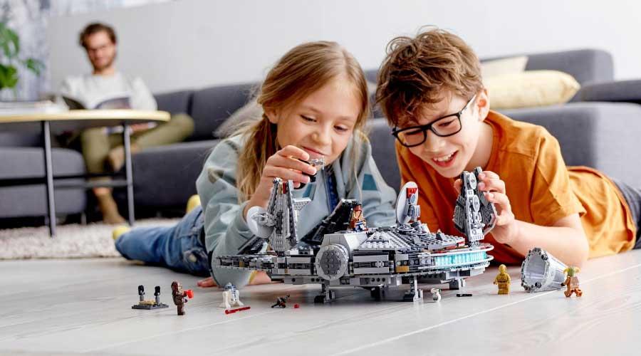 Lego Star Wars: The Rise of Skywalker 75257 Millennium Falcon ขายดี