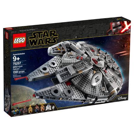 Lego Star Wars: The Rise of Skywalker 75257 Millennium Falcon คุ้มค่า