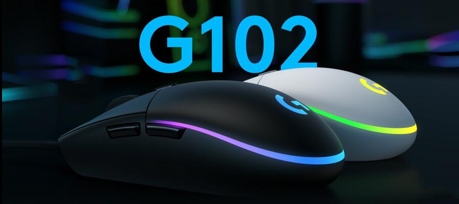 รีวิว เมาส์ Logitech G102 LIGHTSYNC Gaming Mouse