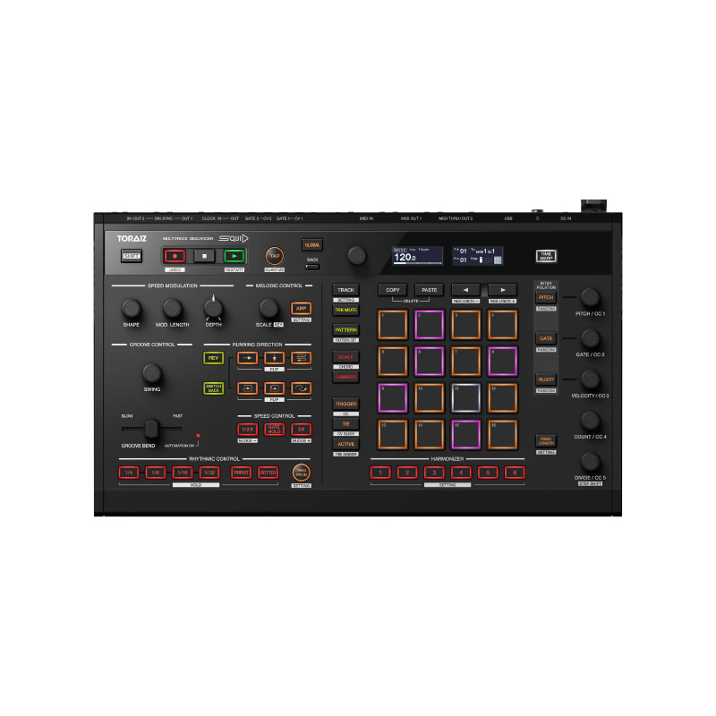 Pioneer DJ TORAIZ SQUID Multitrack Sequencer