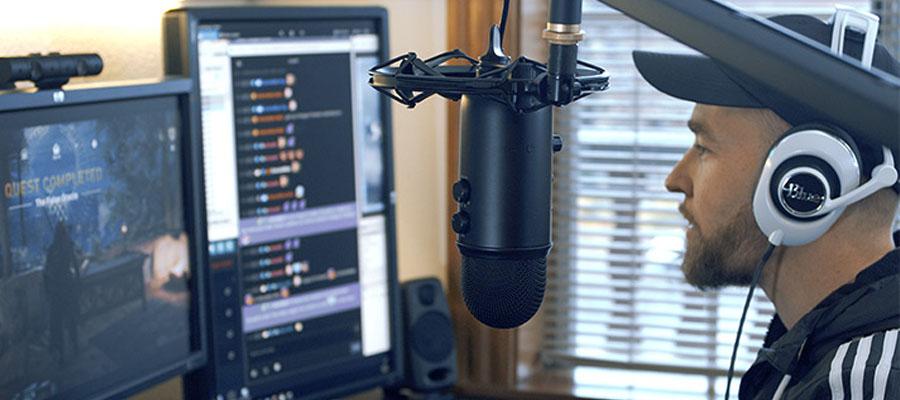 ไมโครโฟน Blue Yeticaster Microphone การใช้งาน