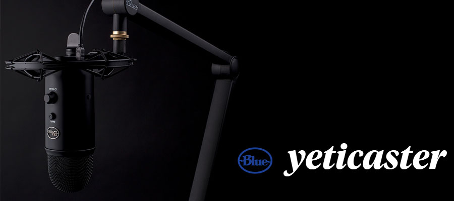 รีวิว ไมโครโฟน Blue Yeticaster Microphone