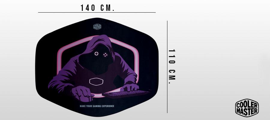 Cooler Master FM510 Protect And Serve ขนาด