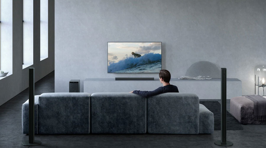 ลำโพง Sony HT-S700RF Soundbar เสียงดี