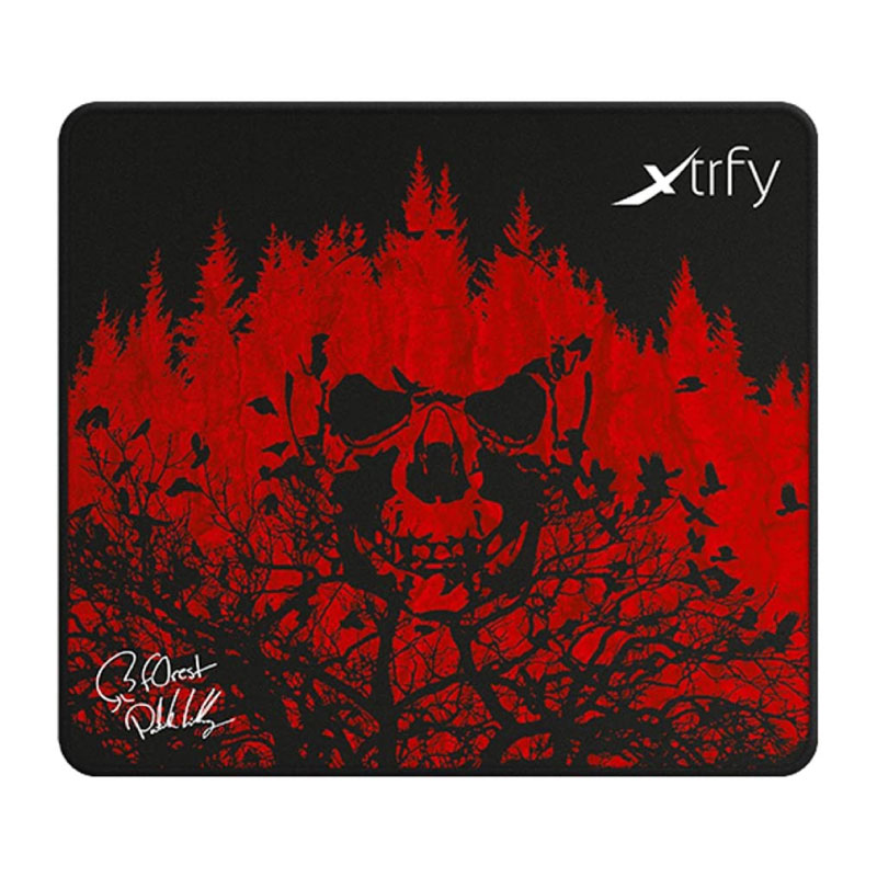 แผ่นรองเมาส์ Xtrfy XTP1 F0rest Edition Cloth Mousepad Large
