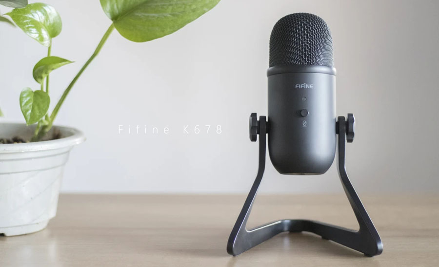 รีวิว ไมโครโฟน FIFINE USB K678 Microphone