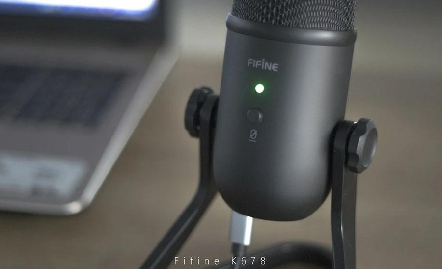 ไมโครโฟน FIFINE USB K678 Microphone สเปค