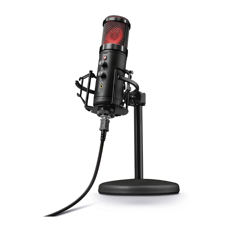 ไมโครโฟน Trust GXT 256 Exxo USB Streaming Microphone