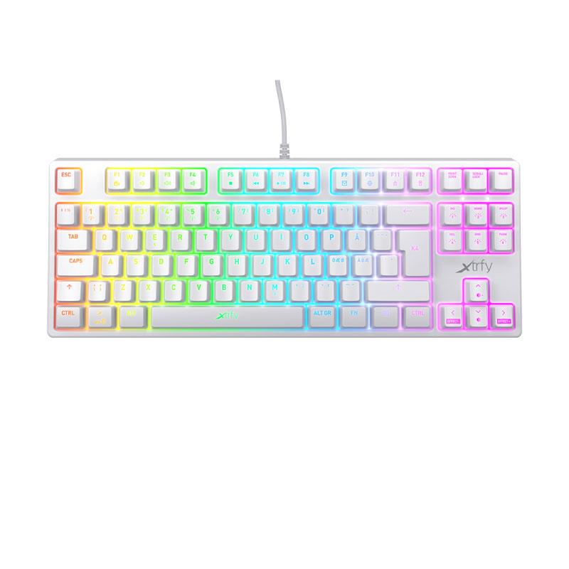 คีย์บอร์ด Xtrfy K4 TKL RGB Mechanical Keyboard TH