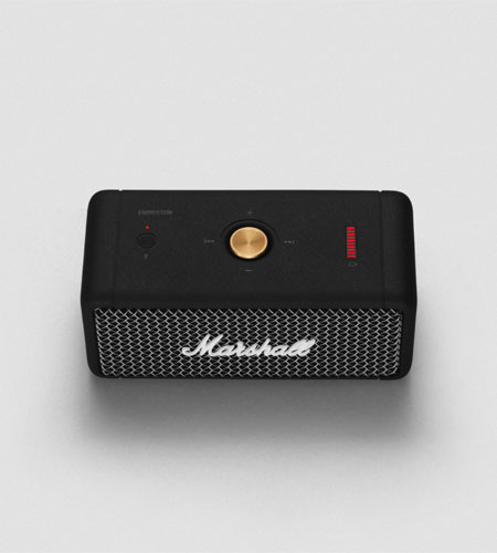 ลำโพง Marshall Emberton Bluetooth Speaker พกพาสะดวก