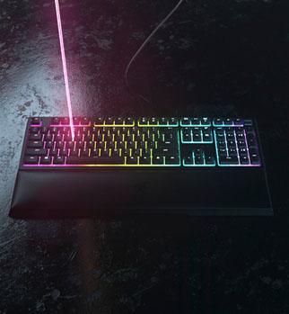 คีย์บอร์ด Razer Ornata V2 Gaming Keyboard ขาย