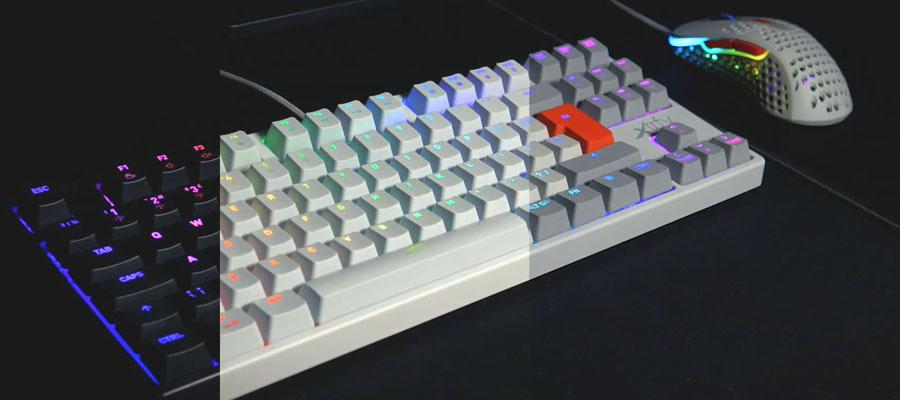 รีวิว คีย์บอร์ด Xtrfy K4 TKL RGB Mechanical Keyboard