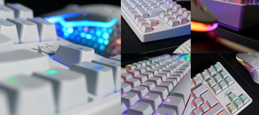 คีย์บอร์ด Xtrfy K4 TKL RGB Mechanical Keyboard ราคา
