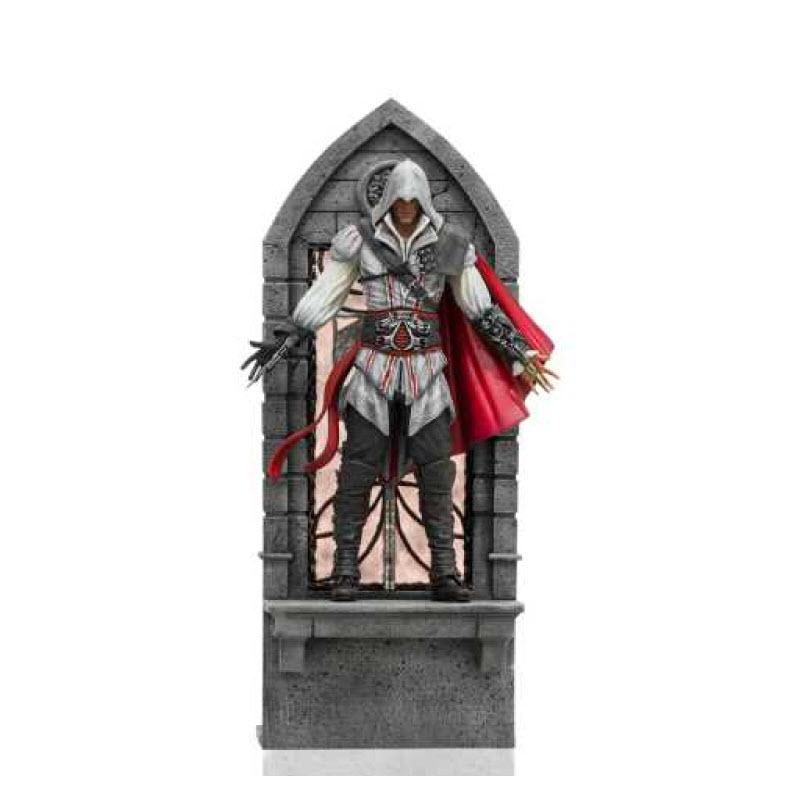 หุ่นปั้น Iron Studio Ezio Auditore: Assassin's Creed II 1/10 Scale (Deluxe) Figure