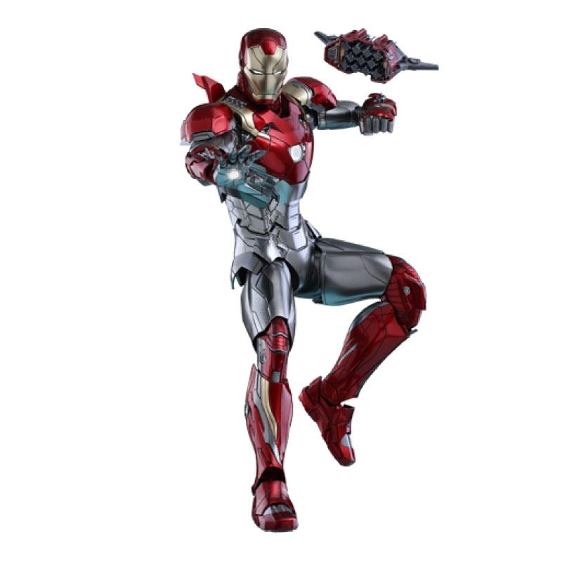 ฟิกเกอร์ Hottoys Iron Man MK47: Spider Man Homecoming 1/6 Scale (Diecast) Figure