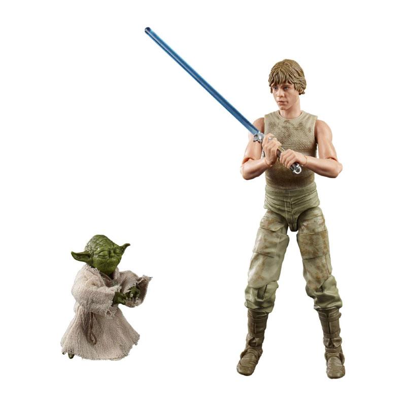 Hasbro Star Wars The Black Series Deluxe Luke & Yoda