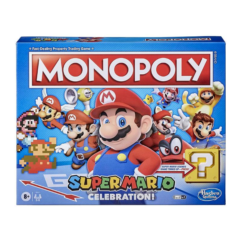 บอร์ดเกม Monopoly Super Mario Celebration Board Game