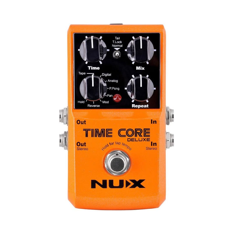 Nux Time Core Deluxe Delay Guitar Effect Pedal