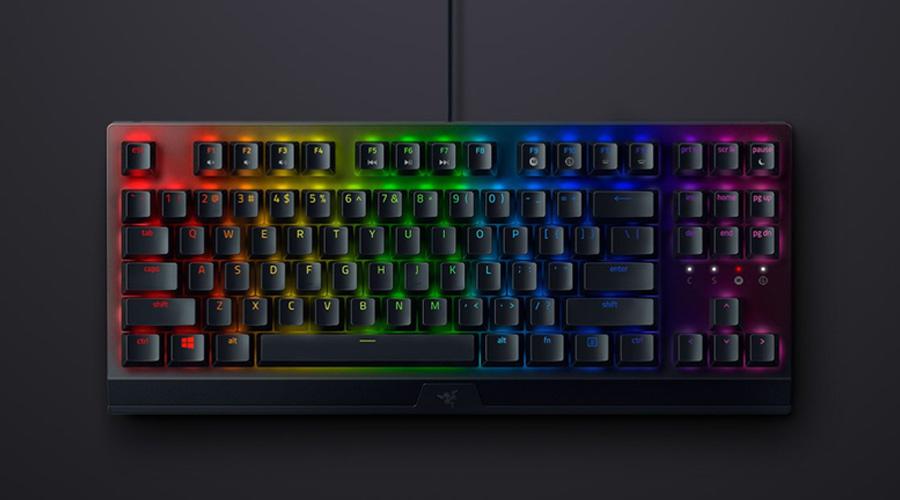 คีย์บอร์ด Razer Blackwidow V3 TKL Keyboards รีวิว