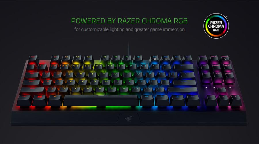 คีย์บอร์ด Razer Blackwidow V3 TKL Keyboards ราคา