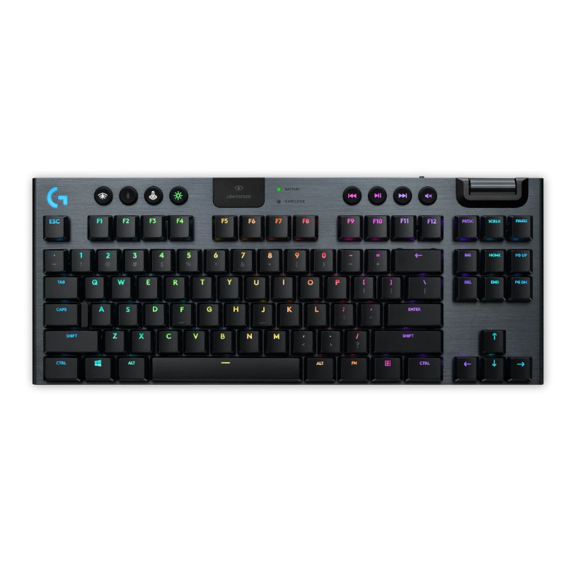 คีย์บอร์ดไร้สาย Logitech G913 TKL LIGHTSPEED Wireless Keyboard