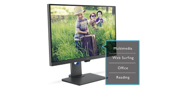 """จอมอนิเตอร์ BenQ 27"""" @60 Hz PD2700U Monitor เทคโนโลยี"""