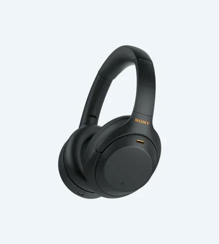 หูฟังไร้สาย Sony WH-1000XM4 Wireless Headphone สวมใส่สบายหู