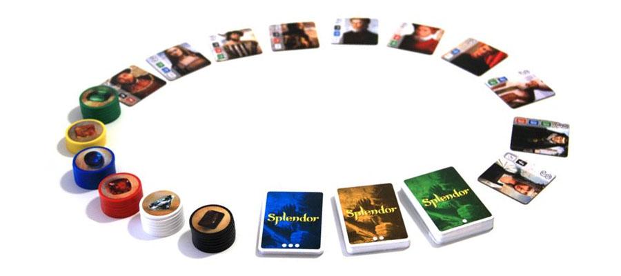 บอร์ดเกม เกมค้าเพชร Splendor Board Game ซื้อ-ขาย