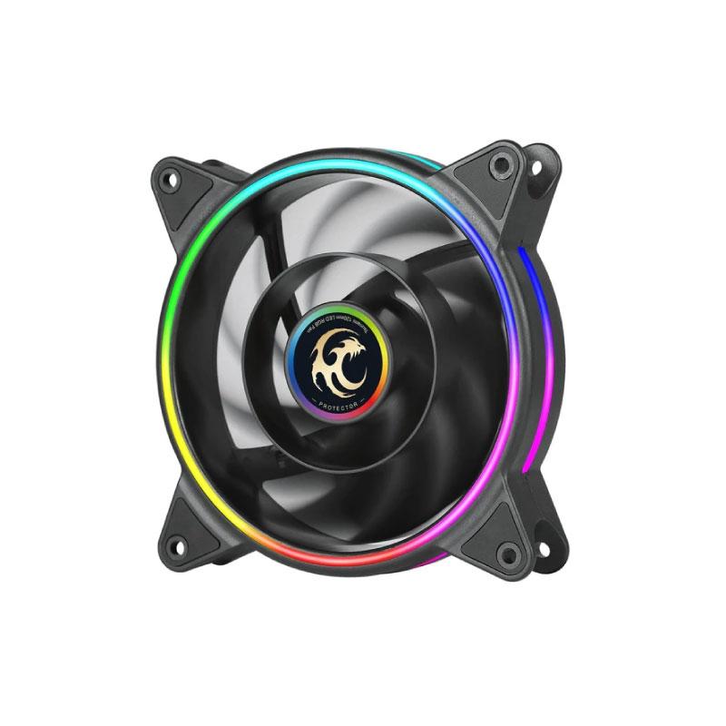 พัดลมระบายความร้อน Tsunami Protector 1250 ARGB 12 CM