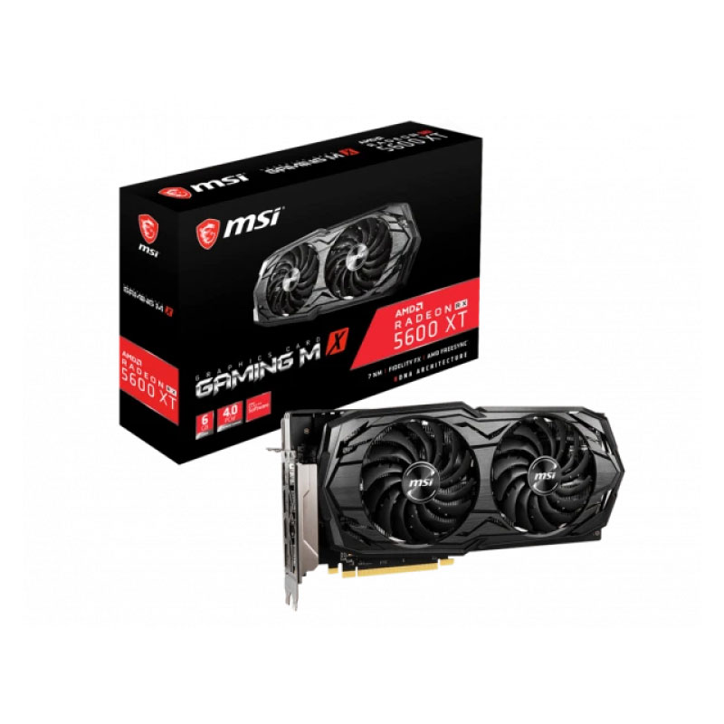 การ์ดจอ MSI Radeon RX 5600 XT Gaming MX 6GB GDDR6 128 Bit VGA