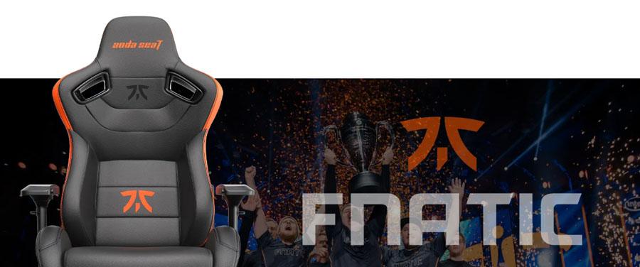 เก้าอี้เล่นเกม Anda Seat Fnatic Edition Premium Gaming Chair รีวิว