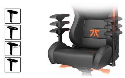 เก้าอี้เล่นเกม Anda Seat Fnatic Edition Premium Gaming Chair นั่งสบาย