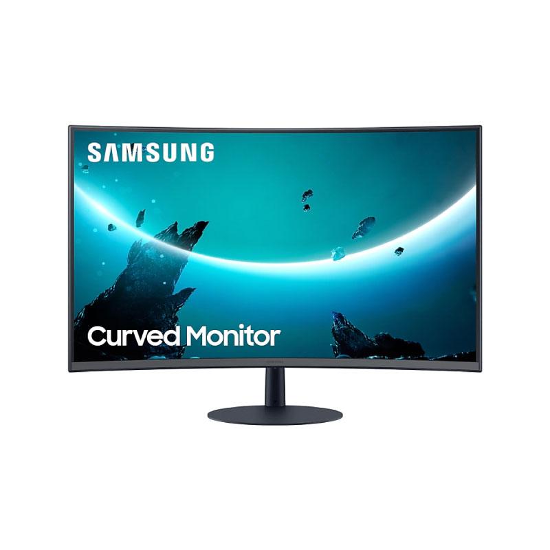"""จอคอม Samsung 32"""" Curved @ 75Hz CT55 มีลำโพง Monitor"""