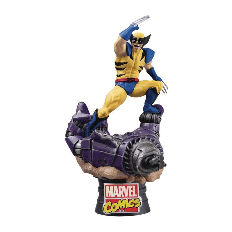 Beast Kingdom D-Select Wolverine: Marvel Comics DS021