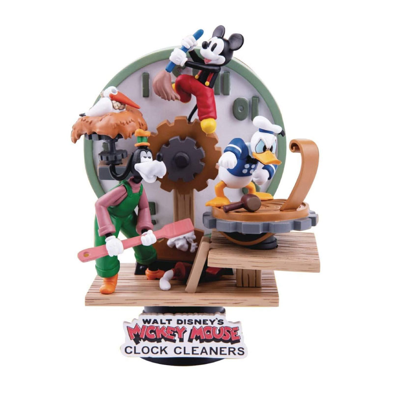 Beast Kingdom D-Select Mickey Mouse Clock Cleaners DS046