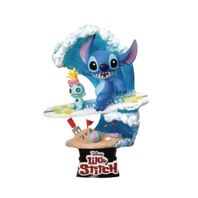 Beast Kingdom D-Select Stitch Surf: Disney Summer Series DS030