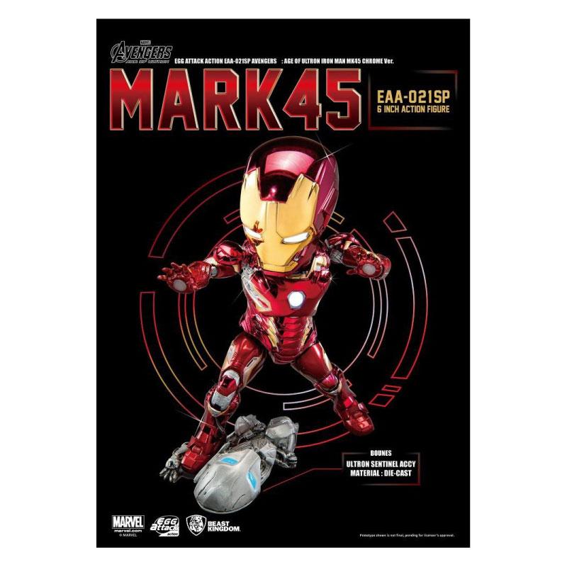 Beast Kingdom Egg Attack Iron Man MK45: Avengers Age of Ultron EAA021SP