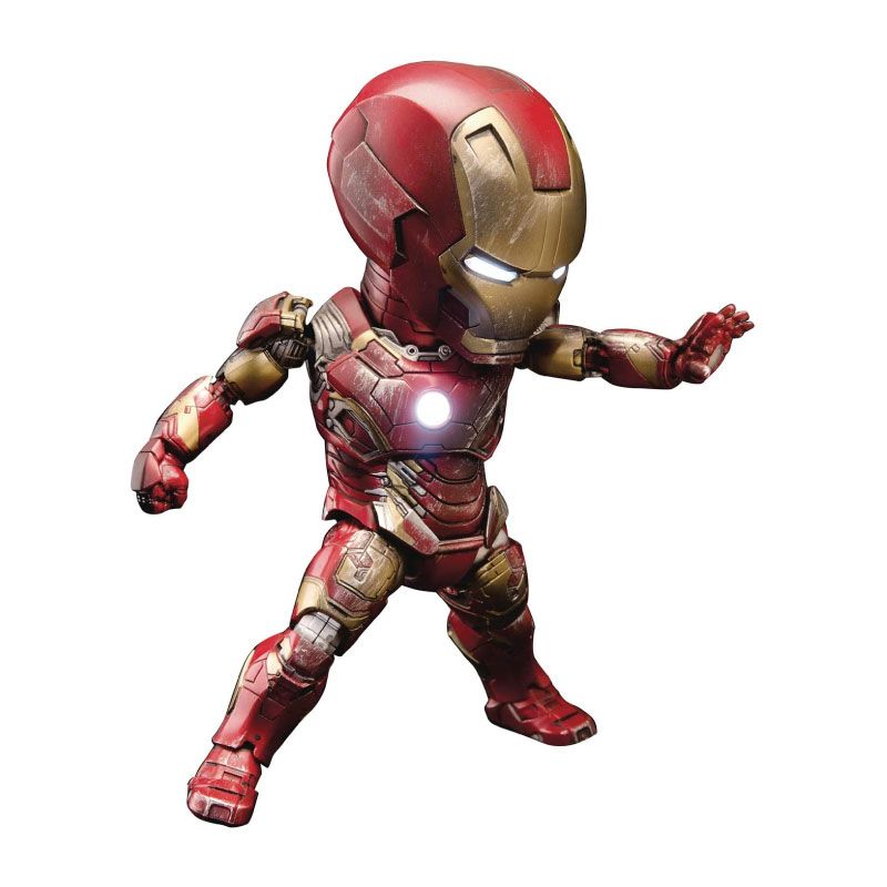 Beast Kingdom Egg Attack Iron Man MK43: Avengers Age Of Ultron (10th Year Edition) EAA024