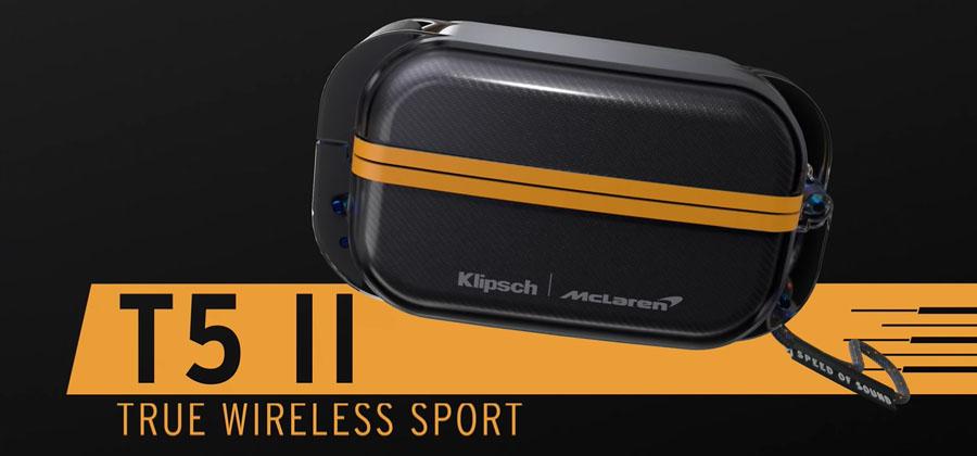 หูฟังไร้สาย Klipsch T5 II Sport MCLAREN Edition True Wireless รีวิว