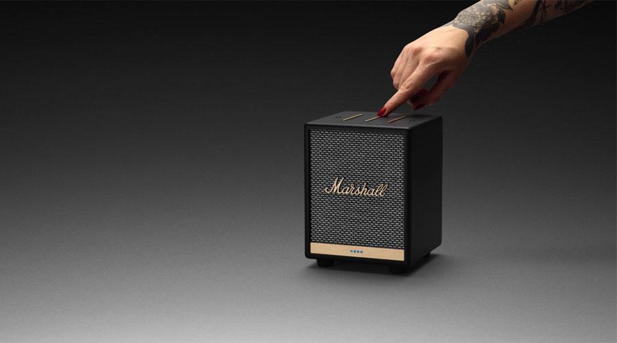 ลำโพง Marshall Uxbridge Voice with Google Assistant Bluetooth Speaker ราคา