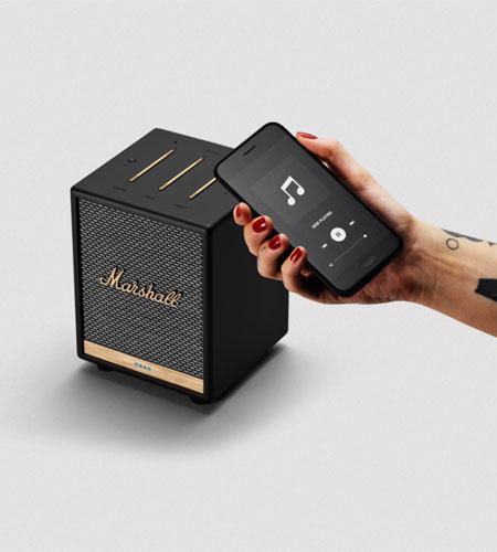 ลำโพง Marshall Uxbridge Voice with Google Assistant Bluetooth Speaker เสียงดี