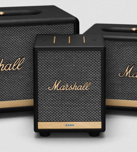 ลำโพง Marshall Uxbridge Voice with Google Assistant Bluetooth Speaker คุ้มค่า